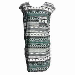 Merona Tribal Print Pocket Dress